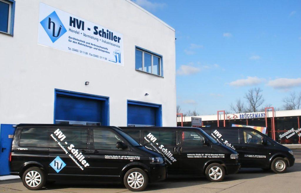 HVI Schiller Verkauf Vermietung Industriebedarf Industrieservice Schweißgeräte mieten